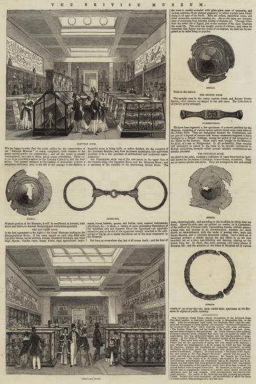 The British Museum--Giclee Print