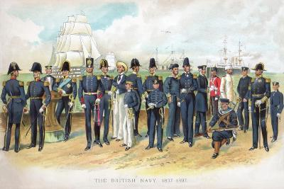 The British Navy, 1837-1897, (Early 20th Centur)-TS Crowther-Giclee Print