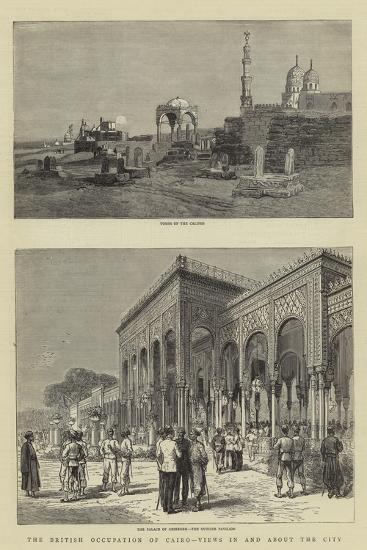 The British Occupation of Cairo, Views in and About the City--Giclee Print