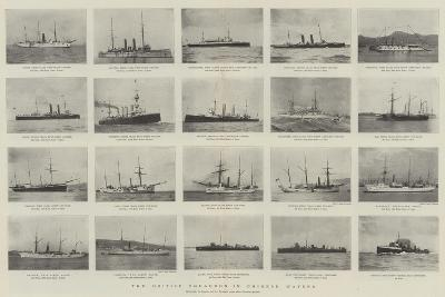 The British Squadron in Chinese Waters--Giclee Print