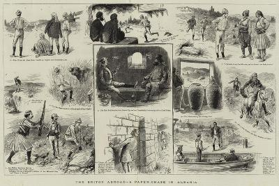 The Briton Abroad, a Paper-Chase in Albania--Giclee Print
