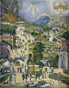 The Broad and Narrow Way, the Narrow Road to Heaven Contrasted with the Broad Way to Hell