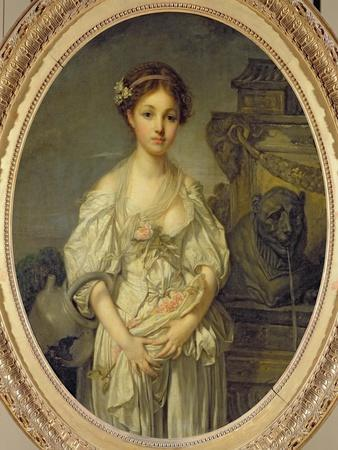 The Broken Pitcher, c.1772-73-Jean-Baptiste Greuze-Giclee Print