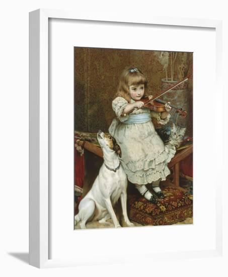 The Broken String-Charles Burton Barber-Framed Giclee Print