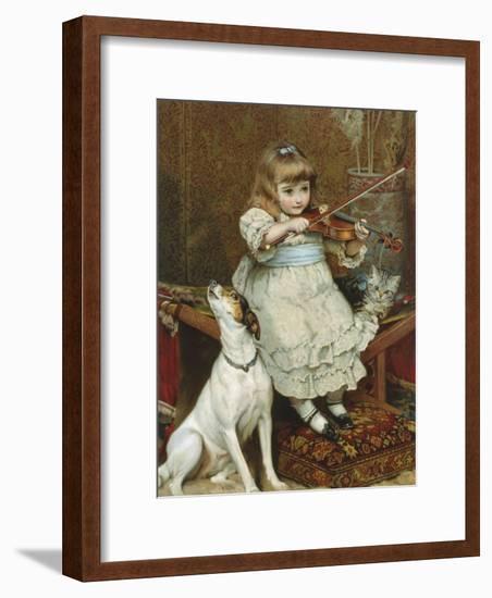 The Broken String-Charles Burton Barber-Framed Giclee Print