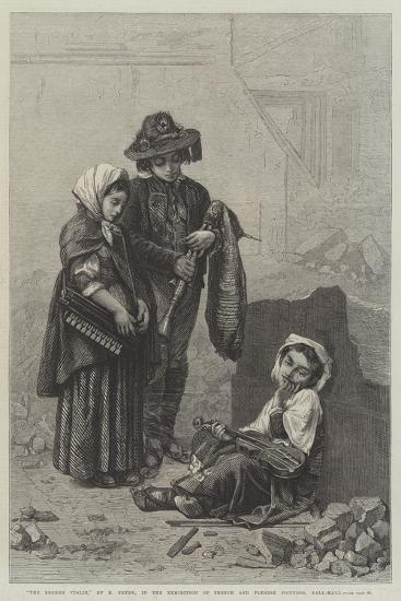 The Broken Violin--Giclee Print
