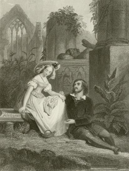 The Broken Vow--Giclee Print
