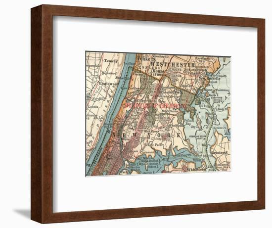 The Bronx (C. 1900)-Encyclopaedia Britannica-Framed Giclee Print