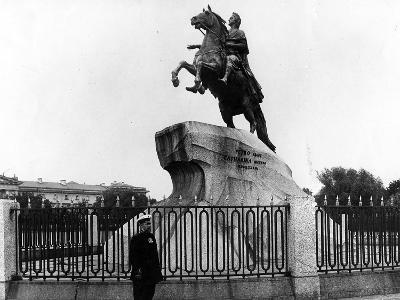 The Bronze Horseman, C.1900--Photographic Print