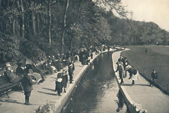 'The Brook, Lower Gardens', c1910-Unknown-Photographic Print
