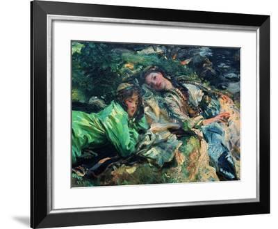 The Brook-John Singer Sargent-Framed Giclee Print