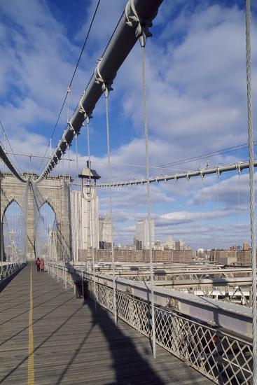 The Brooklyn Bridge--Photographic Print