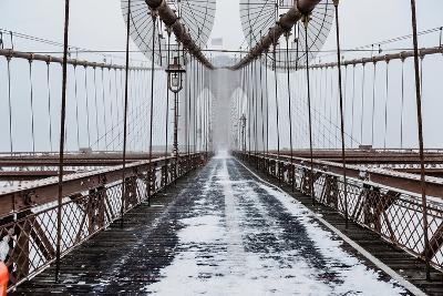 The Brooklyn Bridge-Bruce Getty-Photographic Print