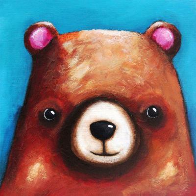 The Brown Bear-Lucia Stewart-Wall Mural