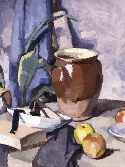 The Brown Crock-Samuel John Peploe-Giclee Print