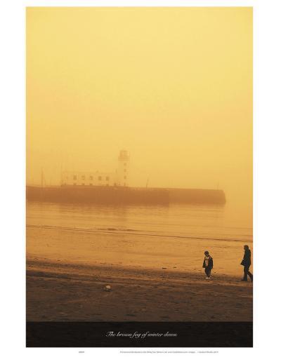 The Brown Fog of Winter Dawn-Graham Rhodes-Art Print