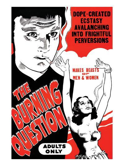 The Bruning Question--Art Print