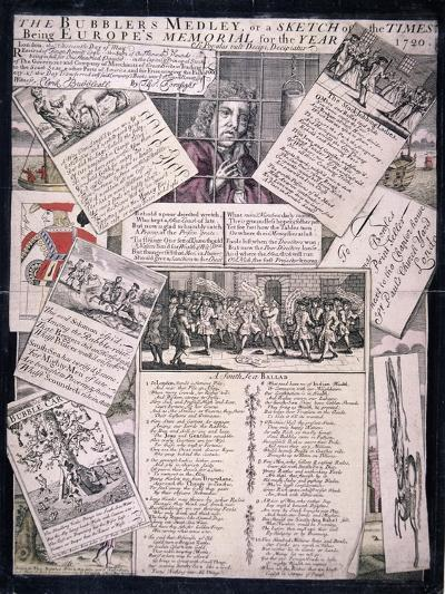 The Bubblers Medley, or a Sketch of the Times, 1720--Giclee Print