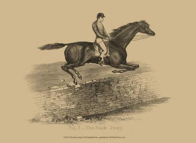 The Buck Jump--Art Print