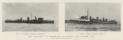The Buckling of Torpedo-Boat Destroyers, Two Further Cases--Giclee Print