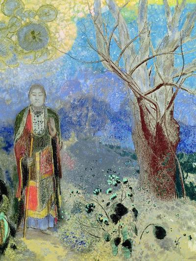 The Buddha, circa 1905-Odilon Redon-Giclee Print