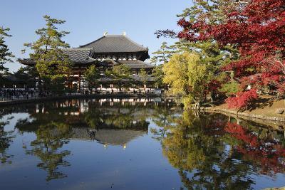 The Buddhist Temple of Topdai-Ji, Nara, Kansai, Japan-Stuart Black-Photographic Print