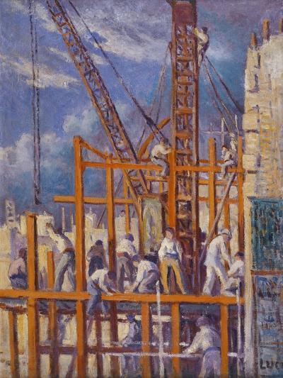 The Building Sites of Paris-Maximilien Luce-Giclee Print