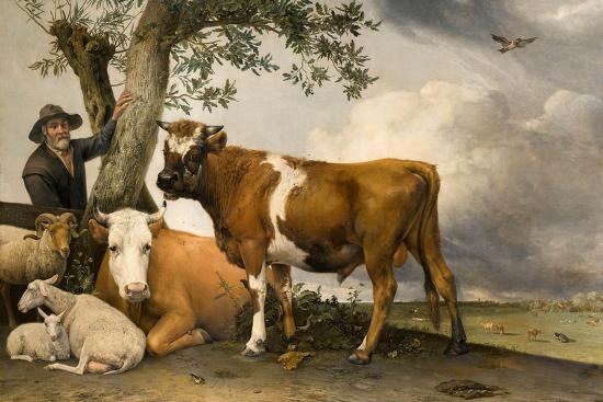 The Bull, 1647-Paulus Potter-Giclee Print