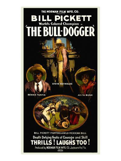 The Bull - Dogger- Norman Studios-Art Print