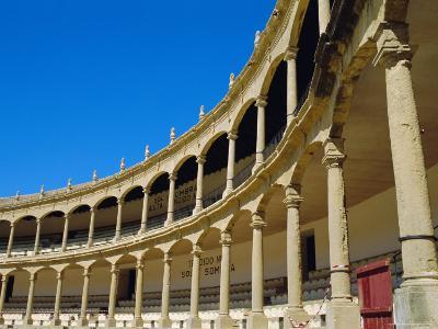 The Bull Ring, Plaza De Toros Built in 1784, the Oldest in Spain, Ronda, Andalucia, Spain-Fraser Hall-Photographic Print