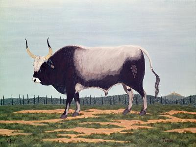 The Bull with Horns-Vincent Haddelsey-Giclee Print
