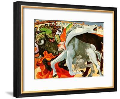 The Bullfight-Pablo Picasso-Framed Art Print