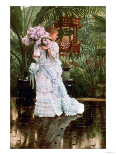 The Bunch of Lilacs, 1875-Sir Lawrence Alma-Tadema-Giclee Print