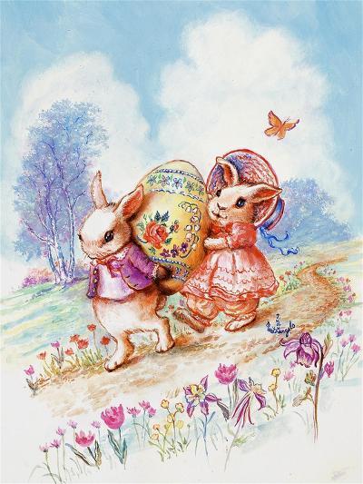 The Bunny Trail-Judy Mastrangelo-Giclee Print
