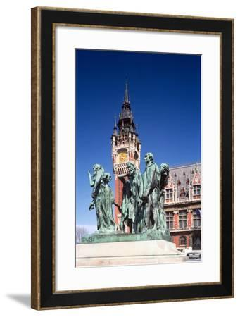 The Burghers of Calais, 1889--Framed Giclee Print
