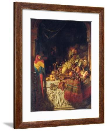 The Burgomaster's Dessert, 1860-George Lance-Framed Giclee Print