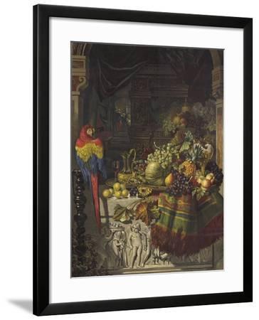 The Burgomaster's Dessert-George Lance-Framed Giclee Print
