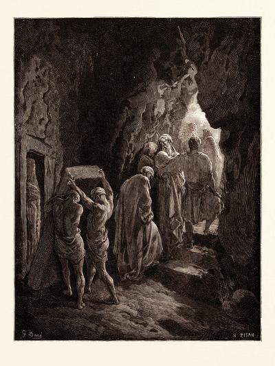 The Burial of Sarah-Gustave Dore-Giclee Print