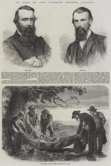 The Burke and Wills Australian Exploring Expedition--Giclee Print