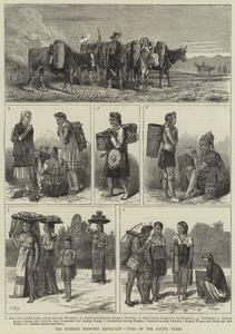 The Burmese Frontier Difficulty, Types of the Native Tribes