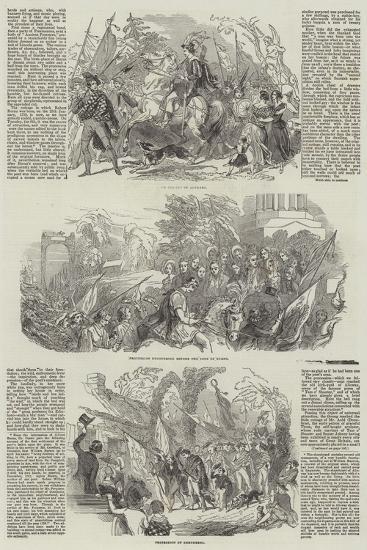 The Burns Festival--Giclee Print