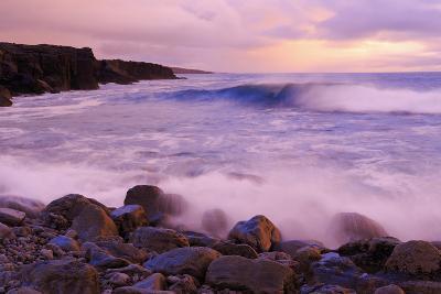 The Burren Coastline Near Doolin, County Clare, Munster, Republic of Ireland, Europe-Richard Cummins-Photographic Print