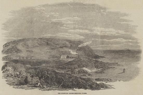 The Burwood Copper-Smelting Works--Giclee Print