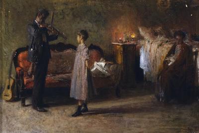 The Busker's Family-Gaetano Gigante-Giclee Print