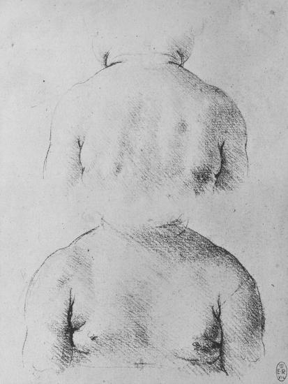 'The Bust of an Infant, Front and Back Views', c1480 (1945)-Leonardo da Vinci-Giclee Print