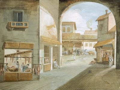 The Butcher's Shop-Giuseppe Bernardino Bison-Giclee Print