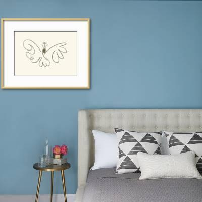 paper butterfly wall decor decor ideasdecor ideas.htm the butterfly  serigraph pablo picasso art com  pablo picasso