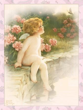 The Butterfly-Bessie Pease Gutmann-Giclee Print