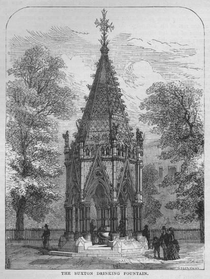 The Buxton Drinking Fountain, Westminster, London, c1870 (1878)-Unknown-Giclee Print