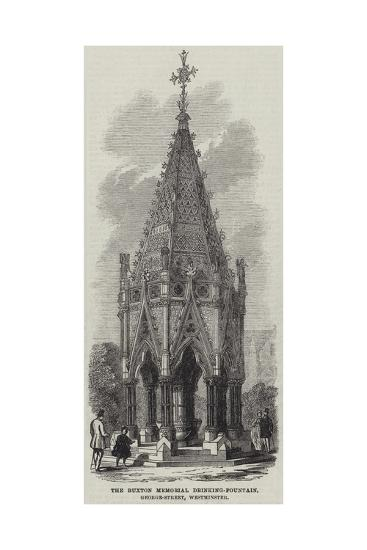 The Buxton Memorial Drinking-Fountain, George-Street, Westminster--Giclee Print